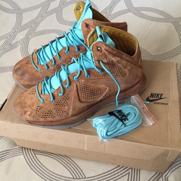 e3eadf347d5 Nike LeBron 10 EXT QS  Hazelnut . M 5a76625b9a9455617ce2646f